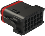 Central connector xtremeDB, field-wireable